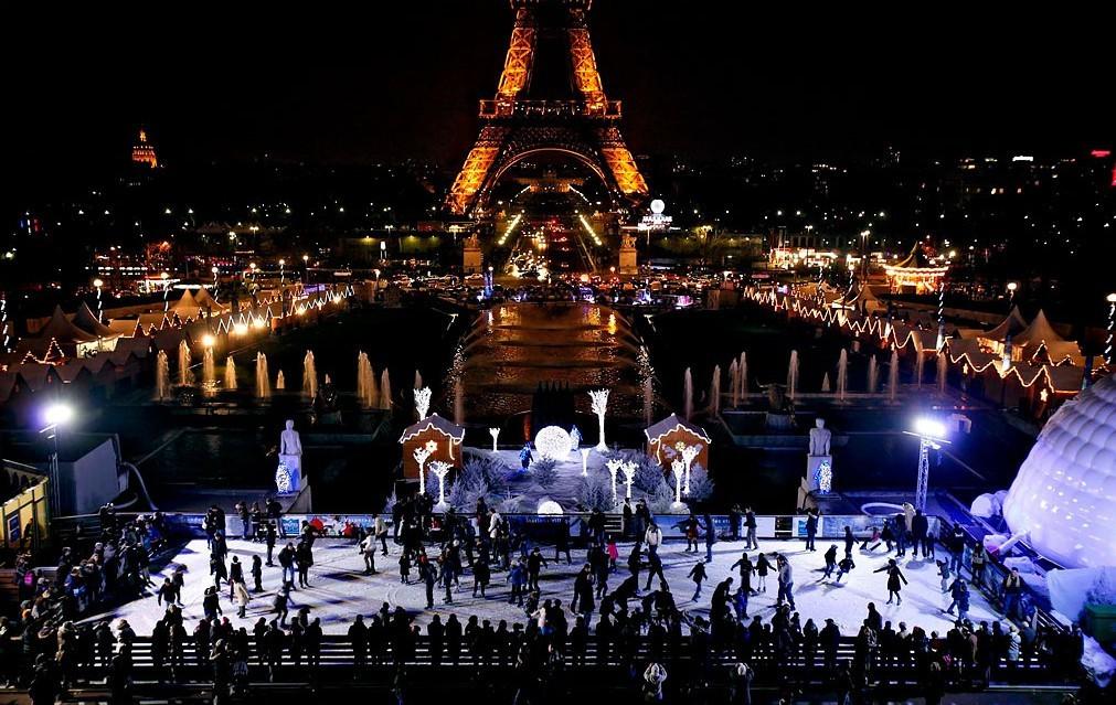 Kerstmarkten in Parijs