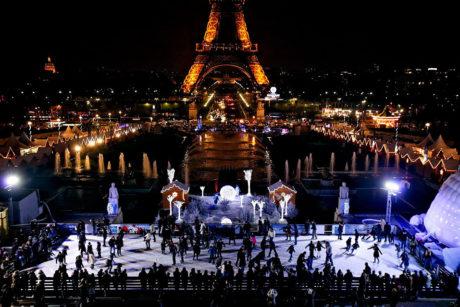 Kerstmarkt in Parijs